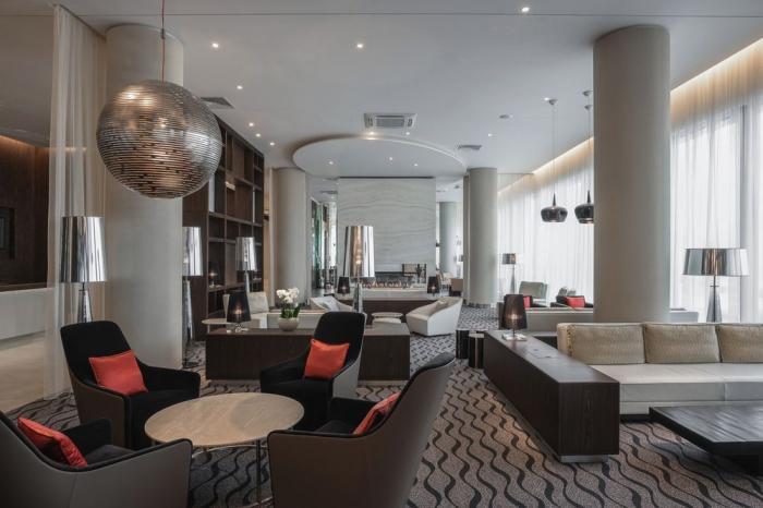 Отель «Hampton by Hilton», Петербургское шоссе, 64к2, Пушкин, метро Московская.